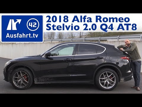 2018 Alfa Romeo Stelvio First Edition 2.0 Turbo AT8-Q4 - Kaufberatung, Test, Review