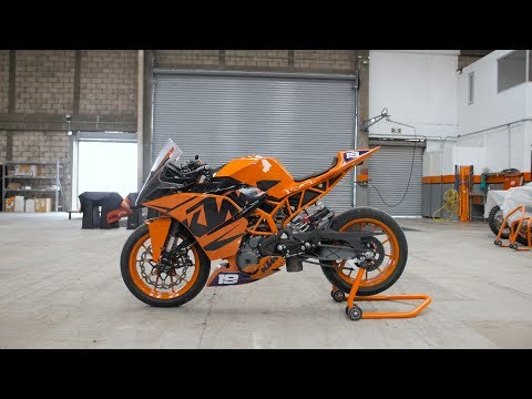 Drifting the KTM RC 390 cup bike | RokON VLOG #21