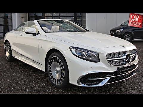 INSIDE the NEW Mercedes-Maybach S 650 Cabriolet 2018 | Interior Exterior DETAILS w/ REVS
