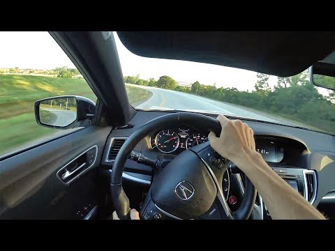 2018 Acura TLX A-Spec SH-AWD - POV First Impressions (Binaural Audio)
