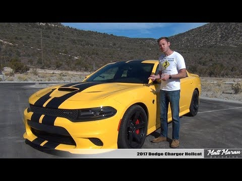 Review: 2017 Dodge Charger Hellcat - The 707 HP Family Sedan!