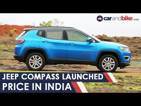 Jeep Compass Launched in India | Prices, Specs & More | NDTV CarAndBike