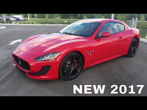 Overview: 2017 Maserati Gran Turismo Sport - Start Up & Exhaust