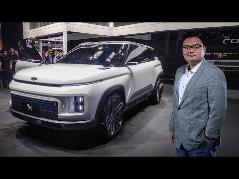 QUICK LOOK: Geely Concept Icon - new SUV with Volvo XC40 base