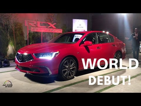 2018 Acura RLX Sport Hybrid walk-around by Product Planner, Jonathon Rivers