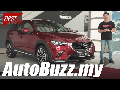 2018 Mazda CX-3 GVC facelift First Look - AutoBuzz.my