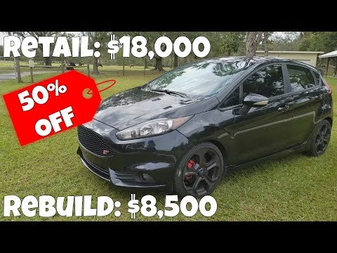 Rebuilding my Ford Fiesta ST Saved OVER 50% off Retail Prices