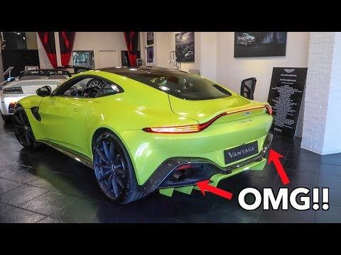 2018 Aston Martin Vantage CAUGHT REVVING For The FIRST Time!!