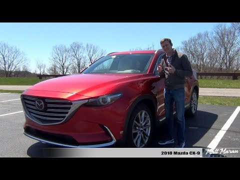 Review: 2018 Mazda CX-9 - Good Looking AND Good Driving