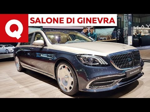 Mercedes-Maybach S restyling: extra lusso imperiale al Salone di Ginevra 2018