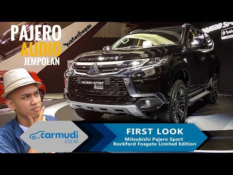 Mitsubishi Pajero Sport Rockford Fosgate Limited Edition 2018 - FIRST LOOK | IIMS 2018