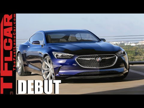 Buick Avista Coupe Concept Debut: With 400 HP & RWD This Aint Your Father