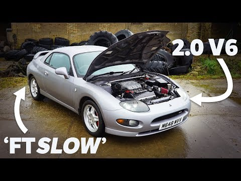 The Mitsubishi FTO Is A 90s Sports Car We