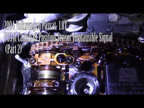 2004 Volkswagen Passat 1.8T, P0341 Camshaft Pos. Sensor Implausible Signal (Part2)