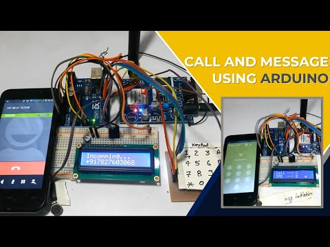 How to Interface GSM Module to Arduino-Send and