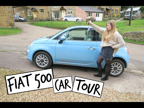 Fiat 500 Car Tour | Emily Steele