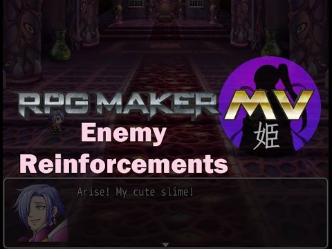 RPGMaker MV: Enemy Reinforcements - Видео каталог Teamhelps