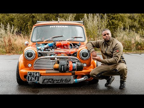 THIS 360BHP TURBOCHARGED MINI IS *TERRIFYINGLY* FAST