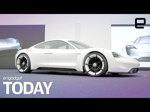 Porsche takes aim at Tesla with the upcoming Mission E   Engadget Today