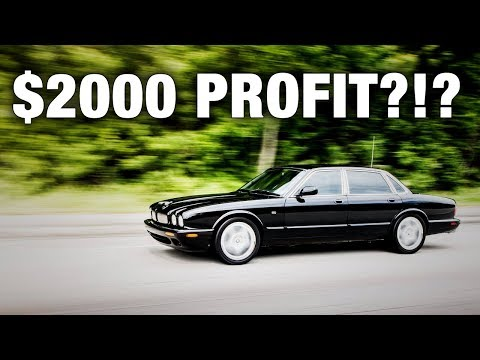 HOW I MADE $2,000 IN 60 DAYS FLIPPING THIS JAGUAR