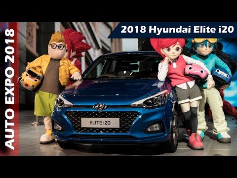 2018 Hyundai Elite i20 First Look Review in Hindi | Auto Expo 2018