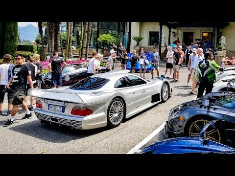 How to EMBARRASS a Pagani Owner: BRING A MERCEDES CLK GTR