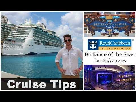 """Royal Caribbean """"Brilliance of the Seas""""   Tour & Overview"""
