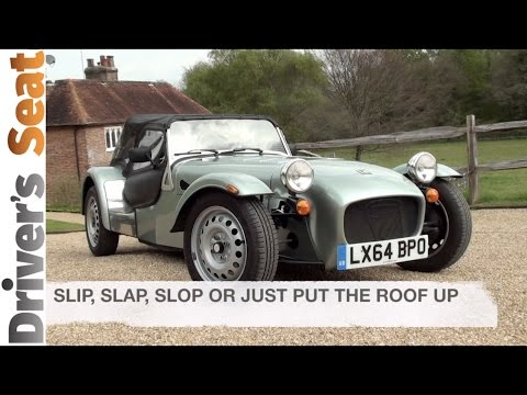 Caterham Seven - our guide to the roof and getting out with elegance
