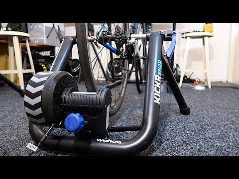 First Look: New Wahoo Kickr SNAP Smart Trainer (SNAP17)