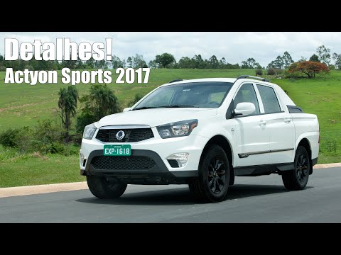 Novo Ssangyong Actyon Sports 2017 Diesel
