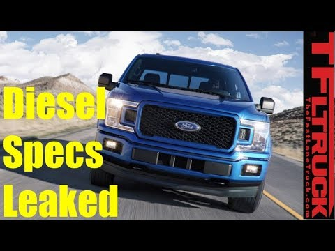 Leaked! New Ford F-150 Diesel Specs Revealed