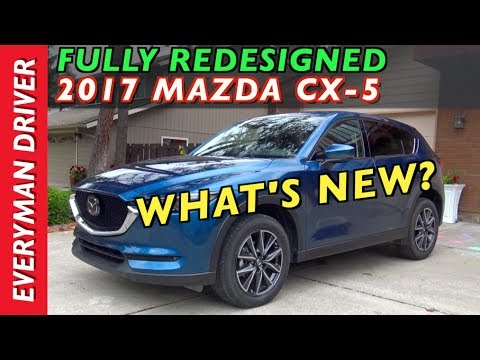 Fully Redesigned: 2017 Mazda CX-5 AWD on Everyman Driver