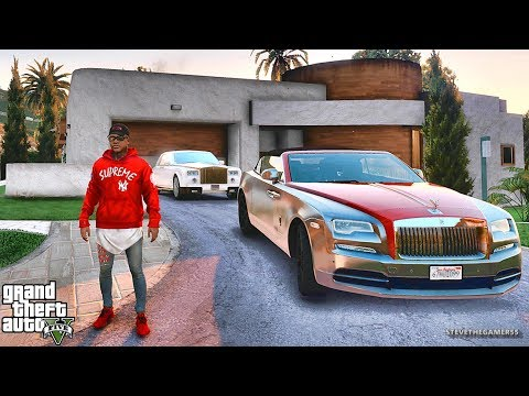 GTA 5 REAL LIFE CJ MOD #32 - THE LOST NEW BIKE!!!(GTA 5 REAL