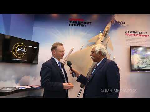 Saab pitching the Gripen E for the IAF