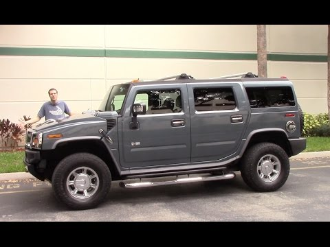 The Hummer H2 Is the Most Embarrassing Vehicle You Can Drive