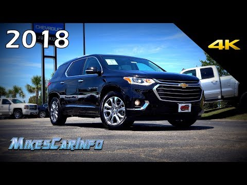 2018 Chevrolet Traverse Premier - Ultimate In-Depth Look in 4K