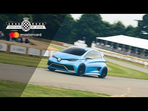 Renault ZOE e-Sport Concept tackles the hill!
