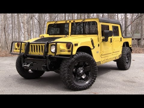 2006 Hummer H1 Alpha Open Top: Road Test & In Depth Review