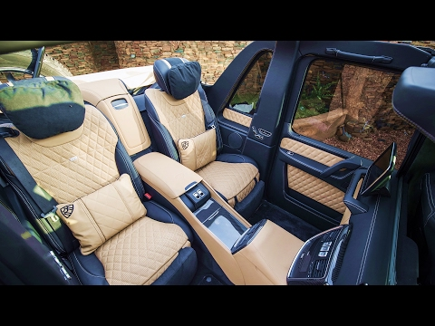 2017 Mercedes Maybach G650 Landaulet - INTERIOR