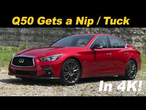 2018 Infiniti Q50 First Drive Review | In 4K UHD!