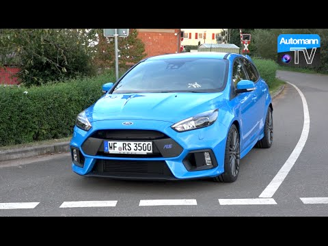 2016 Ford Focus RS (350hp) - DRIVE & SOUND (60FPS)