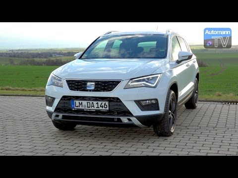 2017 SEAT Ateca (190hp) - DRIVE & SOUND (60FPS)