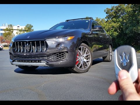 2017 Maserati Levante S: Start Up, Exhaust, Test Drive and Review