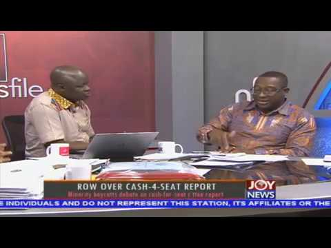Row over cash-4-seat report - Newsfile on JoyNews (17-2-18)