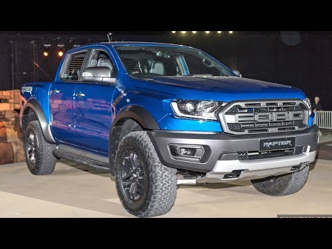 FIRST LOOK: 2018 Ford Ranger Raptor - 2.0 bi-turbo, 213 PS, 10-speed auto!