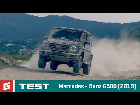 Mercedes Benz MB G500 (2019)  - TEST - GARAZ.TV - Rasťo Chvála