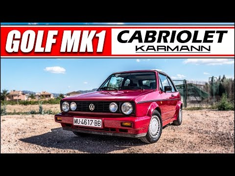 ¡¡ VOLKSWAGEN GOLF MK1 CABRIO !!   Supercars of Mike