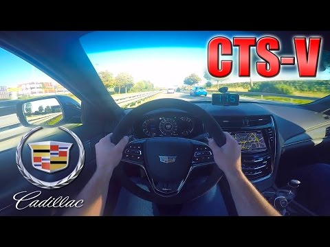2016 Cadillac CTS-V (650hp) Daily drive in Germany ✔