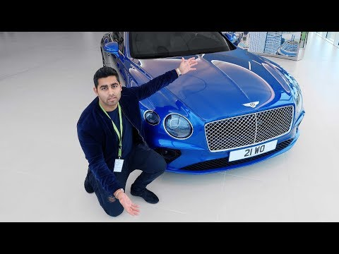 £2 MILLION Bentley & NEW Continental GT at Bentley Factory!