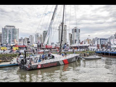 Scallywag is back in the water!   Volvo Ocean Race